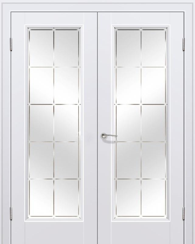 двухстворчатые двери межкомнатные